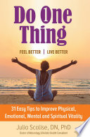 Do One Thing Feel Better Live Better Book PDF