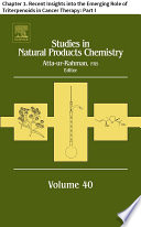 Studies in Natural Products Chemistry  : Chapter 1. Recent Insights into the Emerging Role of Triterpenoids in Cancer Therapy: , Teil 1