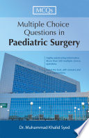 Multiple Choice Questions in Paediatric Surgery