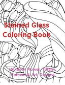 Stained Glass Coloring Book Window, Flower, Tiffany, Cathedral, Art Designs