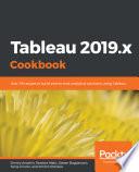 Tableau 2019 x Cookbook Book