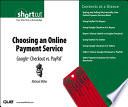 Choosing an Online Payment Service