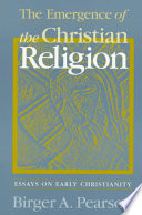 The emergence of the Christian religion