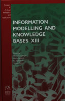 Information Modelling and Knowledge Bases XIII