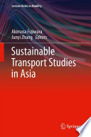 Sustainable Transport Studies In Asia Book PDF