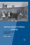 Pdf American Indian/First Nations Schooling Telecharger