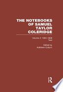 Coleridge Notebooks V2 Text