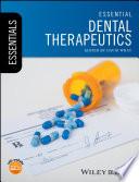 Cover of Essential Dental Therapeutics