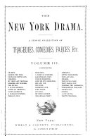 The New York Drama: no. 25-36