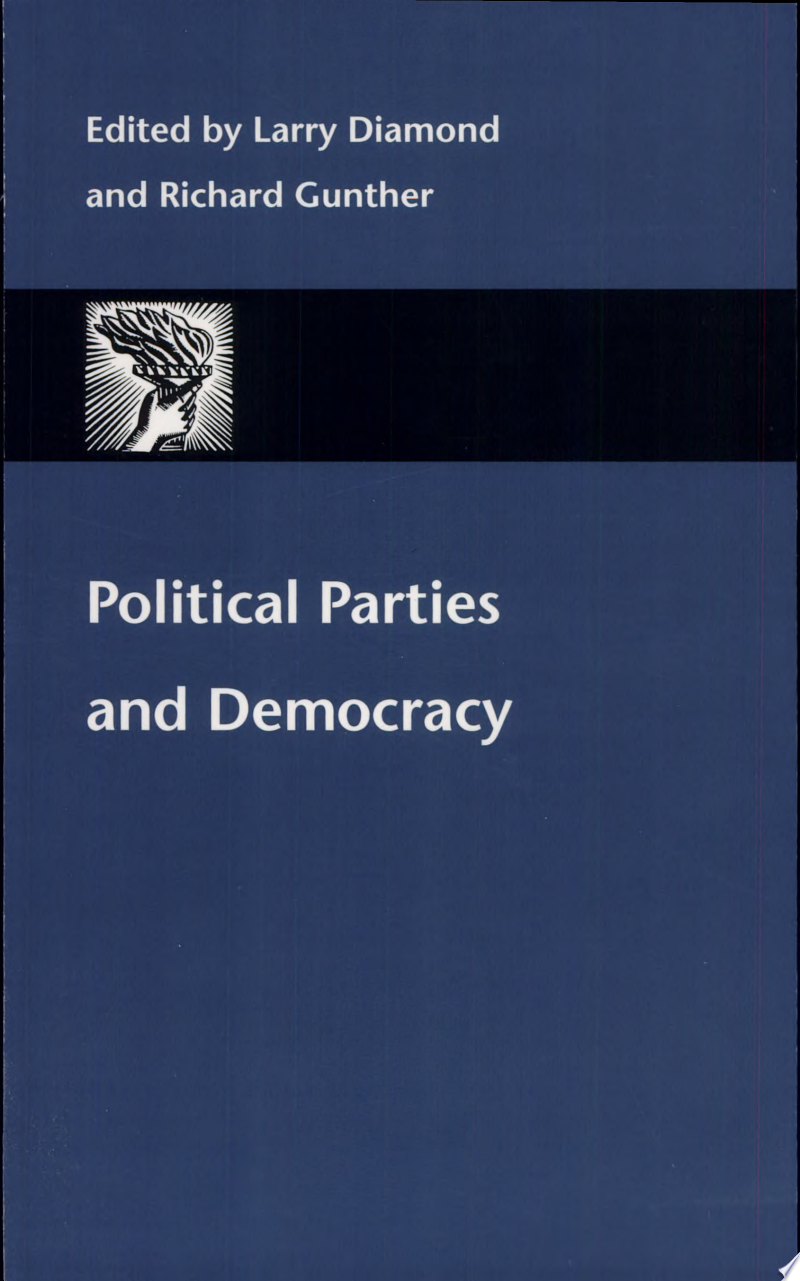 Political Parties and Democracy banner backdrop