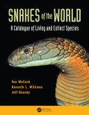 Pdf Snakes of the World Telecharger