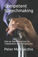 Competent Speechmaking