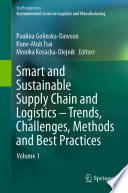 Smart and Sustainable Supply Chain and Logistics     Trends  Challenges  Methods and Best Practices