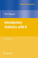 Pdf Introductory Statistics with R Telecharger