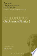 Philoponus  On Aristotle Physics 2