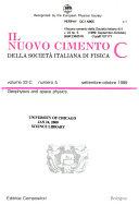 Il Nuovo Cimento Della Societ   Italiana Di Fisica Book