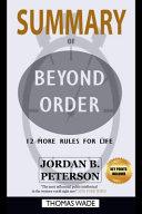 SUMMARY of Beyond Order