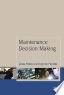 Maintenance Decision Making Book PDF