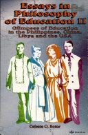 Essays in Philosophy of Education Ii