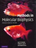 Cover of Methods in Molecular Biophysics
