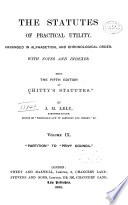The Statutes of Practical Utility [1235-1895]