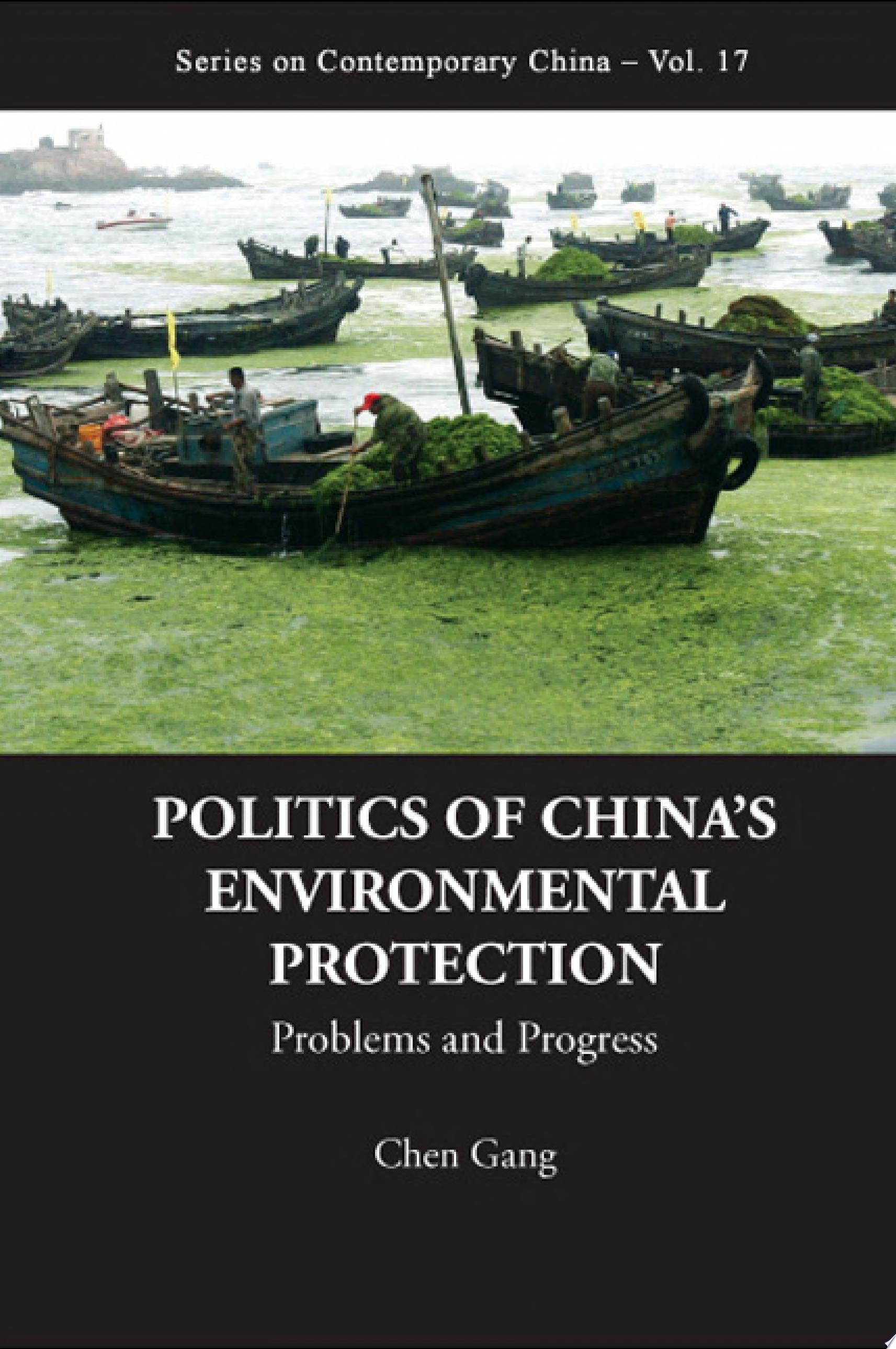 Politics of China s Environmental Protection