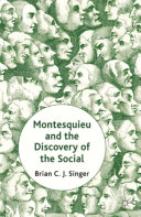 Montesquieu and the Discovery of the Social