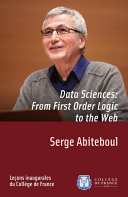 Data Sciences  From First Order Logic to the Web