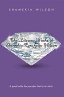 The Literary Works of Shamekia Conchetta Wilson: A peek ...