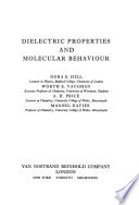 Dielectric Properties and Molecular Behaviour