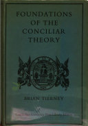 foundations of the conciliar theory