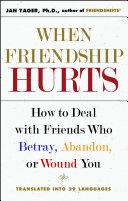 Pdf When Friendship Hurts