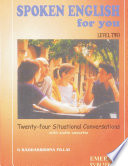 Spoken English For You Level Two Book PDF