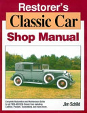 Restorer's Classic Car Shop Manual