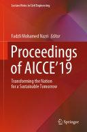 Proceedings of AICCE 19