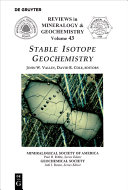 Stable Isotope Geochemistry [Pdf/ePub] eBook