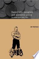 Democratic Socialism And Economic Policy