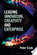 Leading Innovation  Creativity and Enterprise