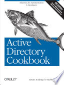 Active Directory Cookbook Book PDF
