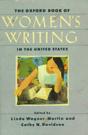 The Oxford Book of Women s Writing in the United States