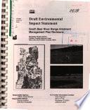 Caribou Targhee National Forest  N F    South Bear River Range Allotment Management Plan Revisions