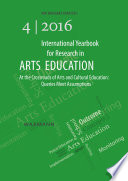 International Yearbook for Research in Arts Education 4 2016 Book
