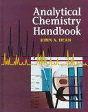 Analytical Chemistry Handbook Book