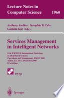 Services Management in Intelligent Networks