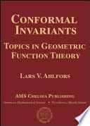 Cover of Conformal Invariants