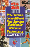 Pre Exercise  Competition and Post Exercise Nutrition for Maximum Performance