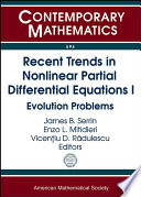 Recent Trends in Nonlinear Partial Differential Equations I