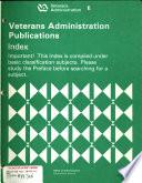 Department Of Veterans Affairs Publications Index
