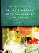 Pdf Encyclopedia of Contemporary American Culture Telecharger
