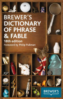 Brewer s Dictionary of Phrase   Fable Book